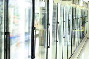 Total Refrigeration Glass Door Refrigerated Case